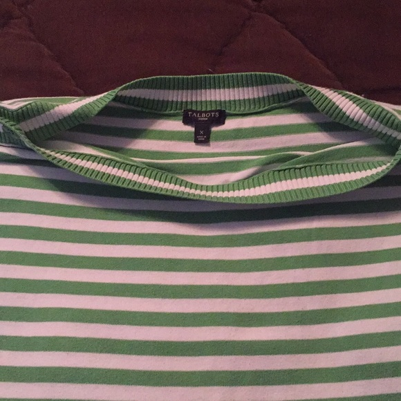 Talbots Tops - Striped summer top